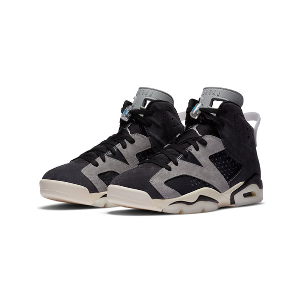 Air Jordan Womens 6 Retro Tech Chrome Shoes