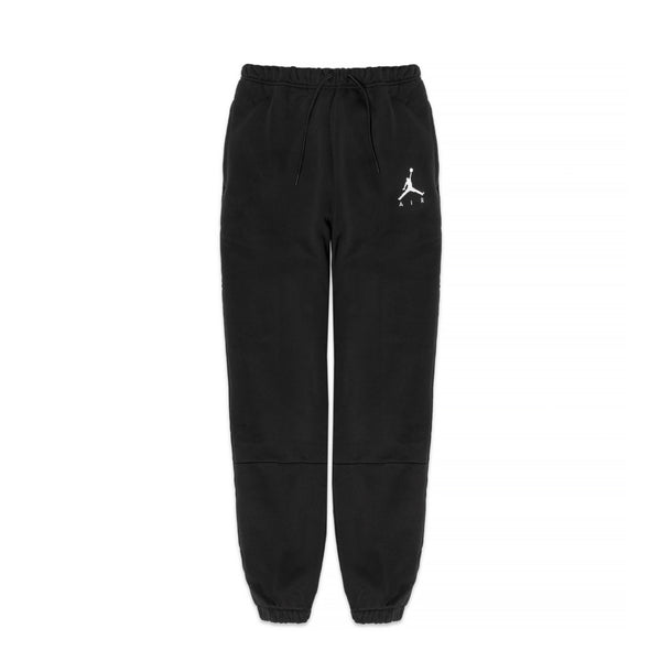 Air Jordan Mens Jumpman Air Black Fleece Pants
