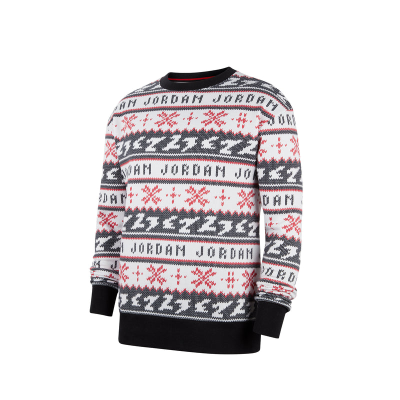 Air Jordan Mens Jumpman Holiday Crew Sweatshirt