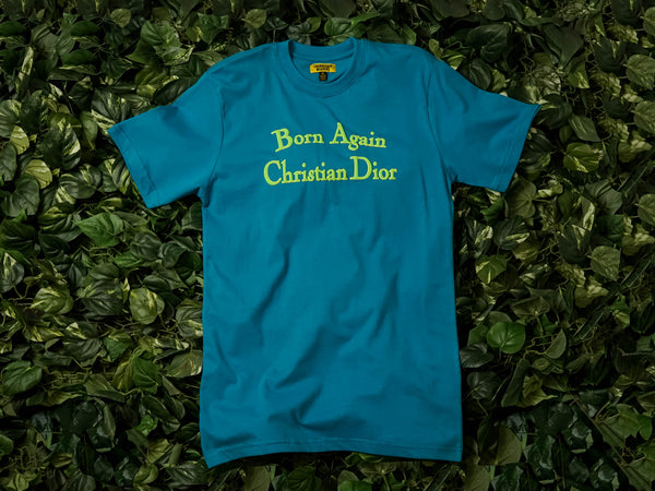 Men's Chinatown Market 'Born Again' Tee [CTMJ-BASS-BLU]