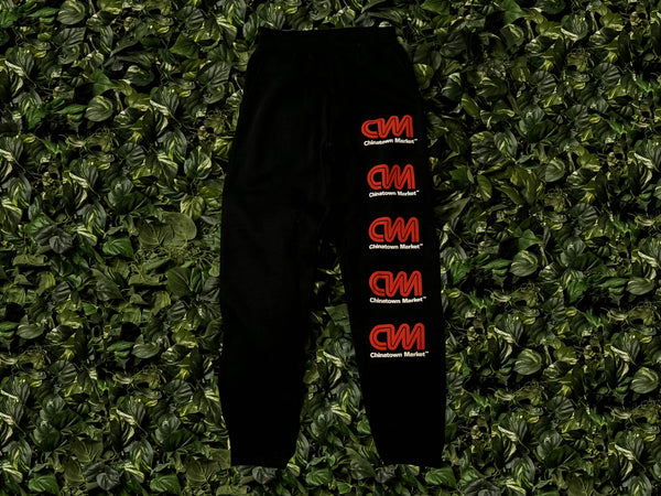 Chinatown Market Most Trusted Sweatpants [CTMSP20-CNNSP-BK]