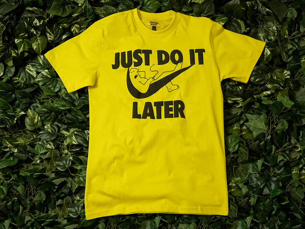 Men's Chinatown Market 'Just Do It Later' Tee [CTSU19-JDISS]