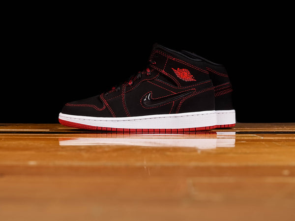 Kid's Air Jordan 1 Mid GS 'Fearless' [CU6617-062]