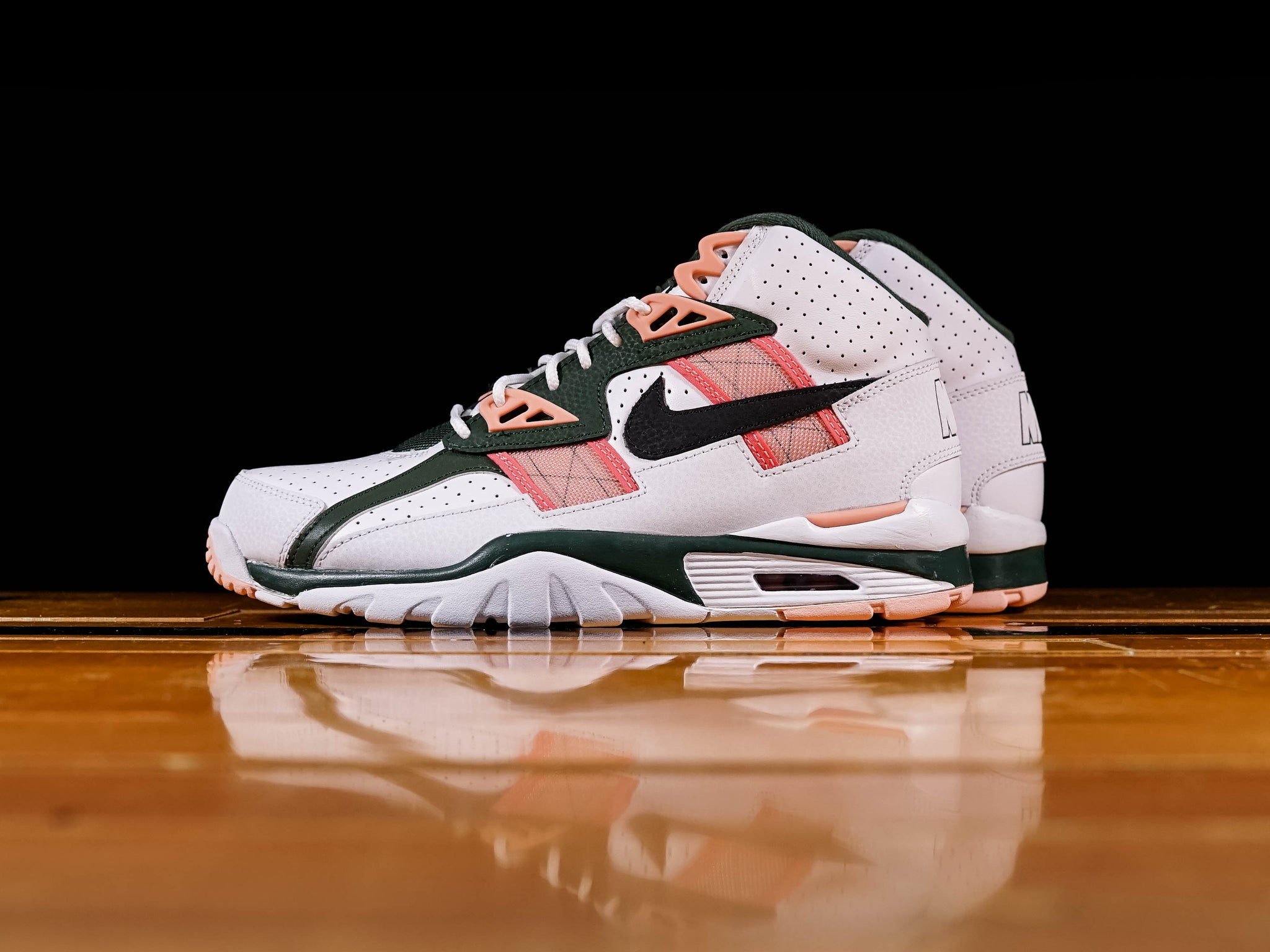 Nike Air Trainer SC Pink Green CU6672 100 Release Info