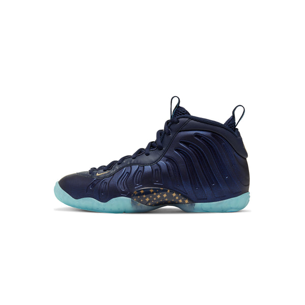 Nike Kids Little Posite One 'Obsidian' GS Shoes