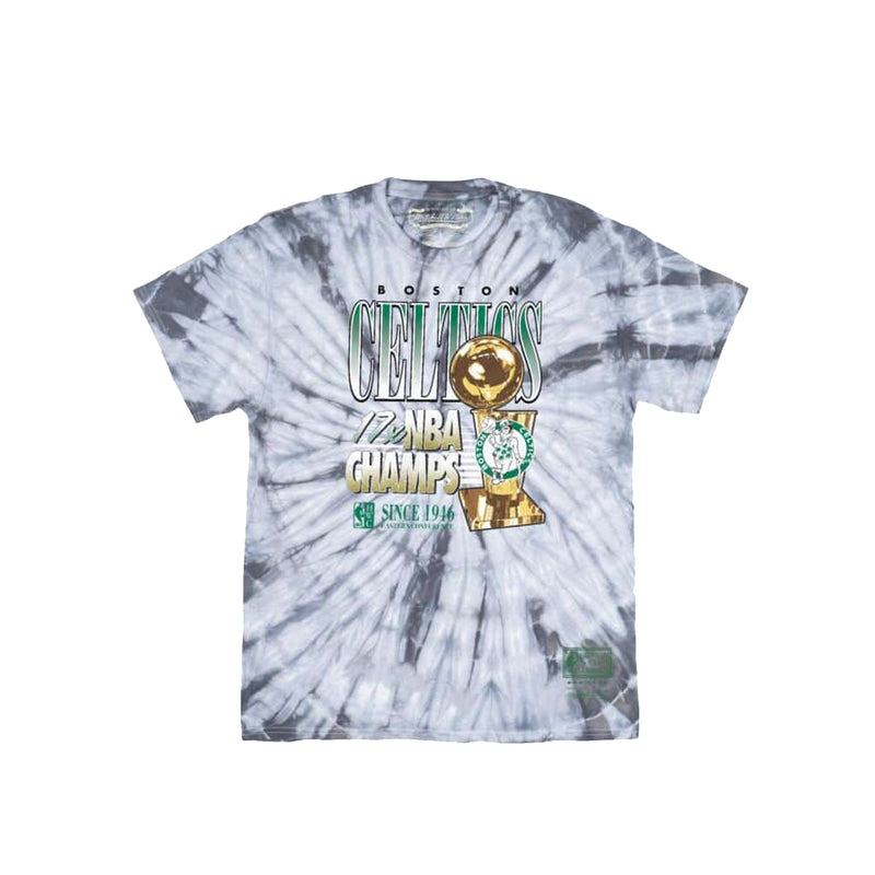 Mitchell & Ness Mens NBA 17x Champions Celtics Tee