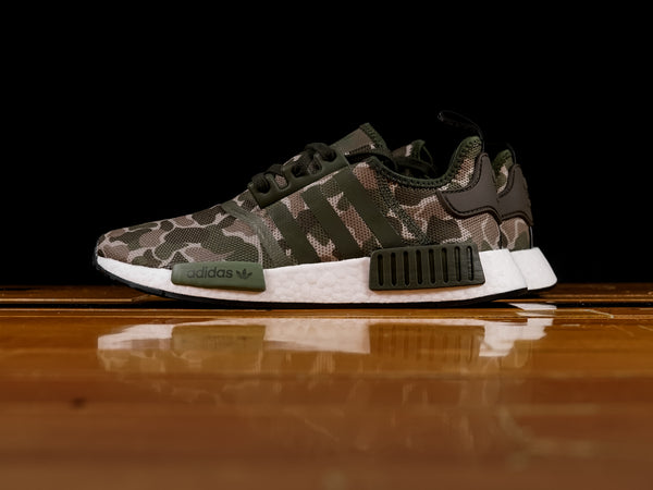 Men's Adidas NMD R1 'Duck Camo' [D96617]