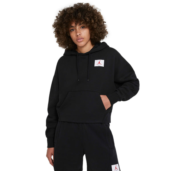 Air Jordan Womens Flight Fleece Pullover Hoodie