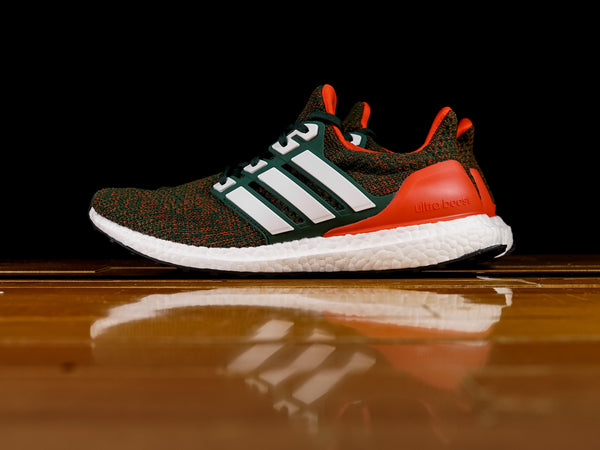 Men's Adidas Ultra Boost 4.0 'Miami Hurricanes' [EE3702]