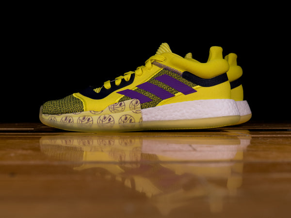 Men's Adidas Marquee Boost Low 'Shock Yellow' [G27743]
