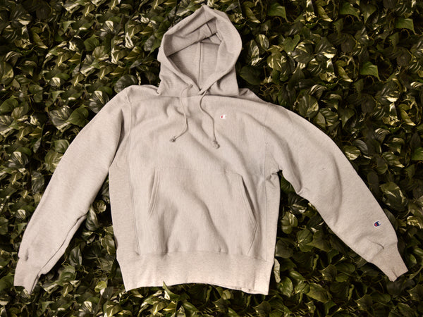 Men's Champion Reverse Weave Fleece Pullover Hoodie [GF68-1IC]
