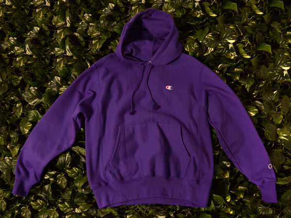 Men's Champion Reverse Weave Fleece Pullover Hoodie [GF68-PRC]