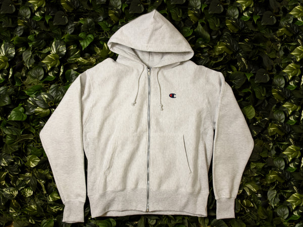 Men's Champion Reverse Weave Fleece Zip Hoodie [GF69-2UC]