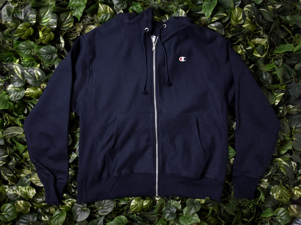 Men's Champion Reverse Weave Fleece Zip Hoodie [GF69-NYC]