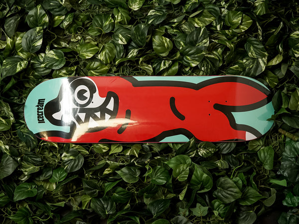 ICECREAM Bread Skate Deck Red [481-7804-RED]