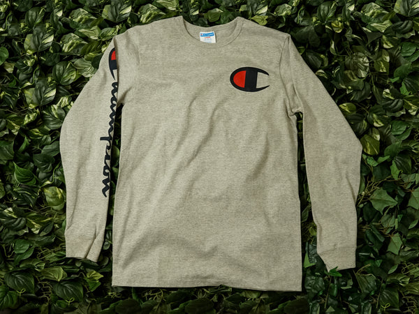Men's Champion Heritage L/S [GT47-Y07789-1IC]