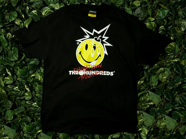 Men's Chinatown Market x The Hundreds 'Crossout Adam' Tee [L18W201032-BLK]