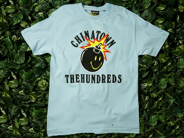Men's Chinatown Market The Hundreds 'Happy Adam' Tee [L18W201033-PBLU]