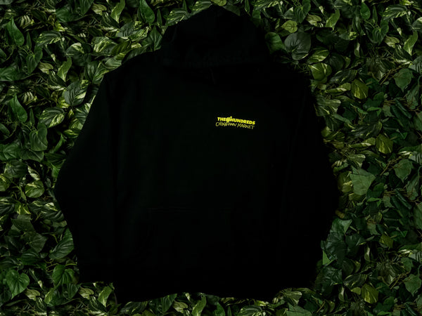 Men's Chinatown Market x The Hundreds 'Crossout Adam' Hoodie [L18W202036-BLK]