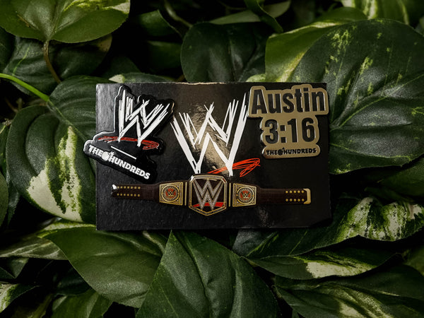 The Hundreds x WWE Pin Set [L19W207026]