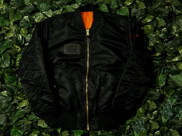 RISE x Alpha Industries 'Malice' MA-1 Flight Jacket [MALIC3M8]