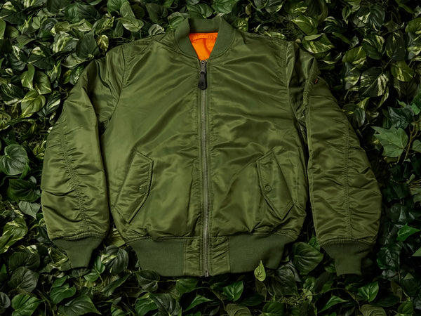 Alpha Industries MA-1 Flight Jacket [MJM21000C1-SAGE]