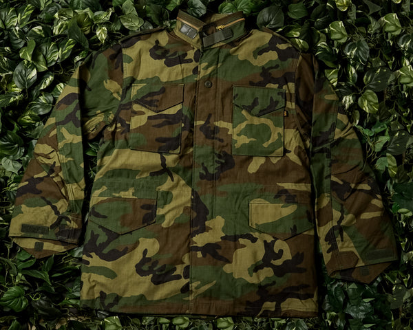 Men's Alpha Industries M-65 Flight Coat [MJM24000C1-CAMO]