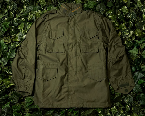 Alpha Industries M-65 Field Coat [MJM24000C1-OLIVE]