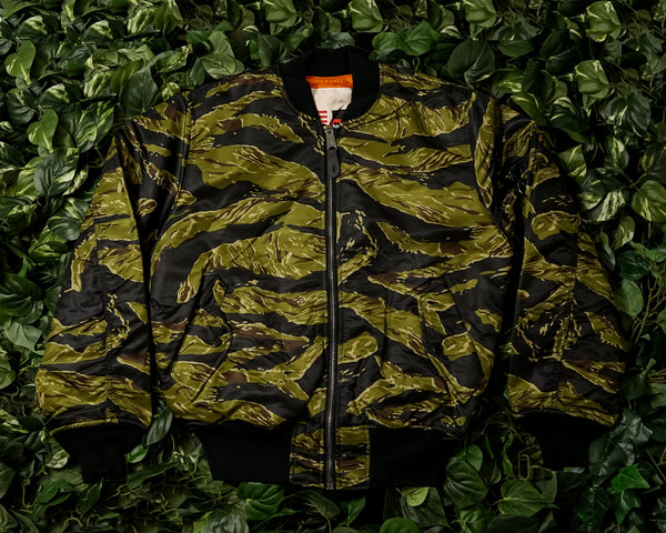 Alpha Industries MA-1 Coalition Flight Jacket [MJM48500C1-TIGER]