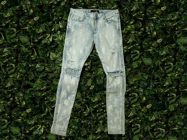 Men's Represent Destroyer Jeans [REP-DDBB]