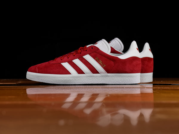 Men's Adidas Gazelle 'Scarlet Red' [S76228]
