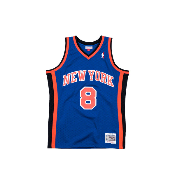 Mitchell & Ness Mens NBA New York Knicks '98 'Latrell Sprewell' Swingman Jersey