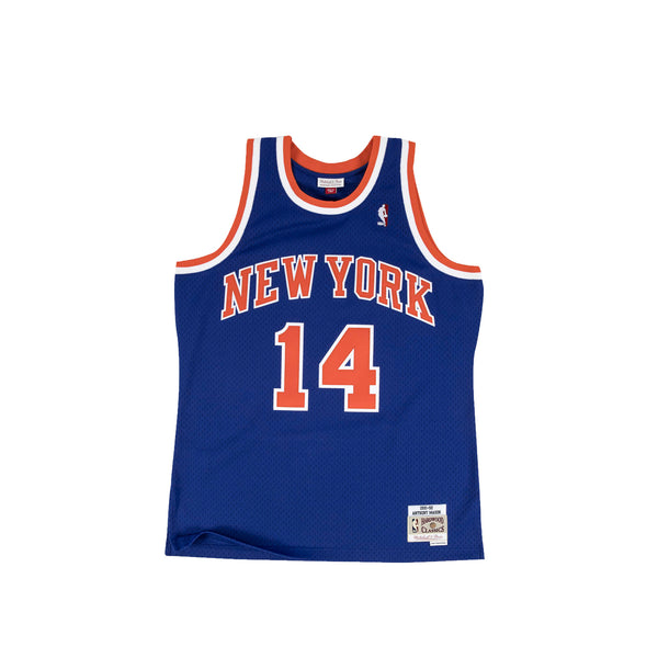 Mitchell & Ness NBA Swingman Knicks 91' Anthony Mason Road Jersey
