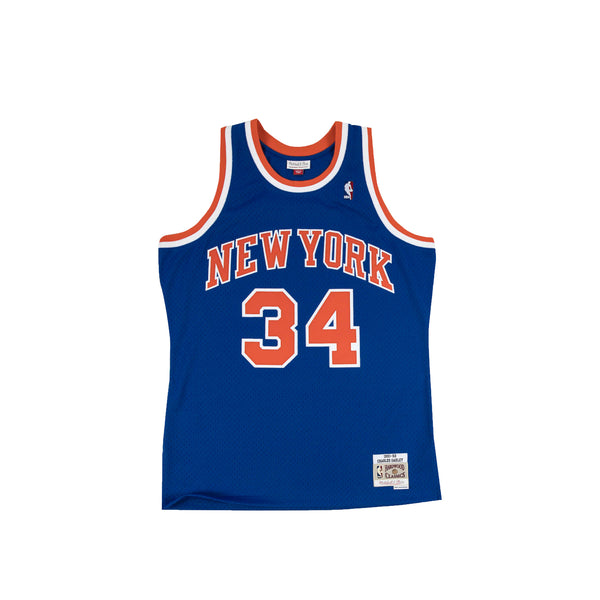 Mitchell & Ness NBA Swingman Knicks 91' Charles Oakley Road Jersey