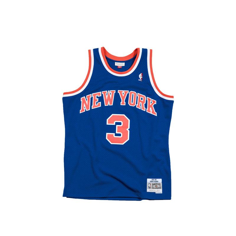 Mitchell & Ness NBA Swingman Knicks 91' John Starks Road Jersey