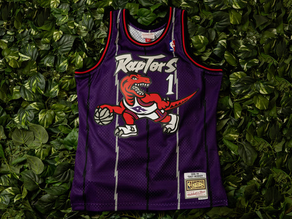 Mitchell & Ness 'Tracy McGrady' '98 NBA Swingman Jersey [SMJYGS18215-TRAPURP98TMC]