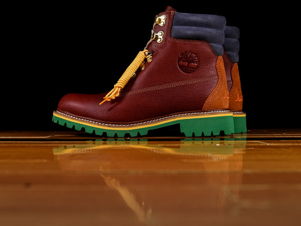 Men's Just Don x Timberland 6-Inch Premium 'Burgundy Full Grain' Boot [TB0A1UXZ]
