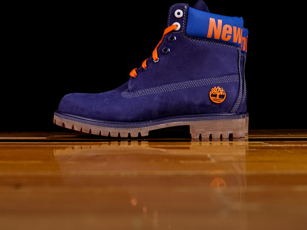 "Men's Timberland x Mitchell & Ness NBA 6"" Premium Boot 'New York Knicks' [TB0A2493]"