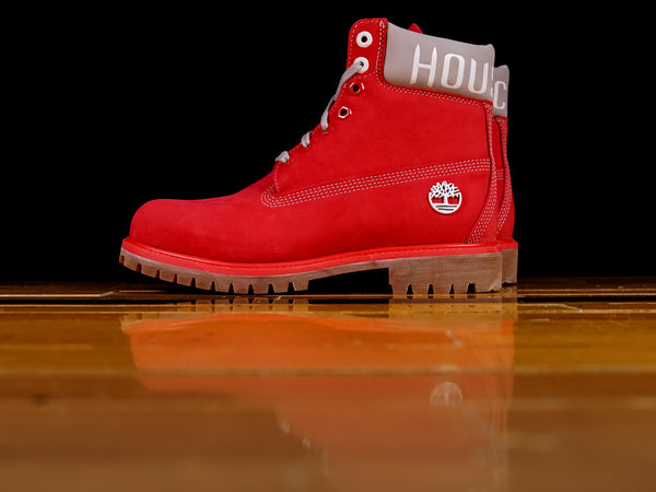 "Men's Timberland x Mitchell & Ness NBA 6"" Premium Boot 'Houston Rockets' [TB0A249E]"