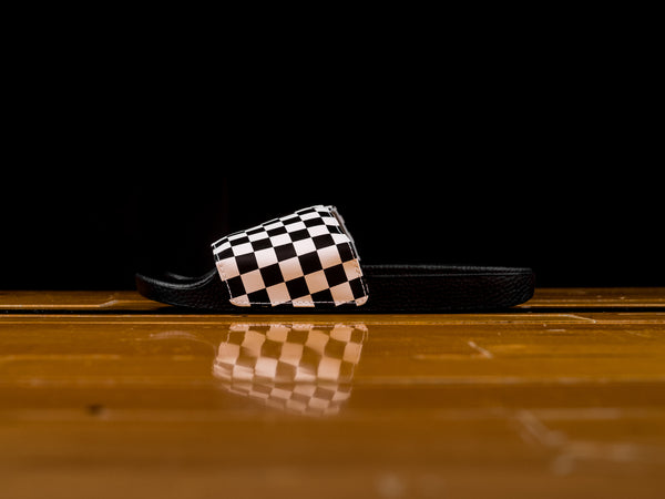 Men's Vans Slides 'Checker' [VN0004KIIP9]