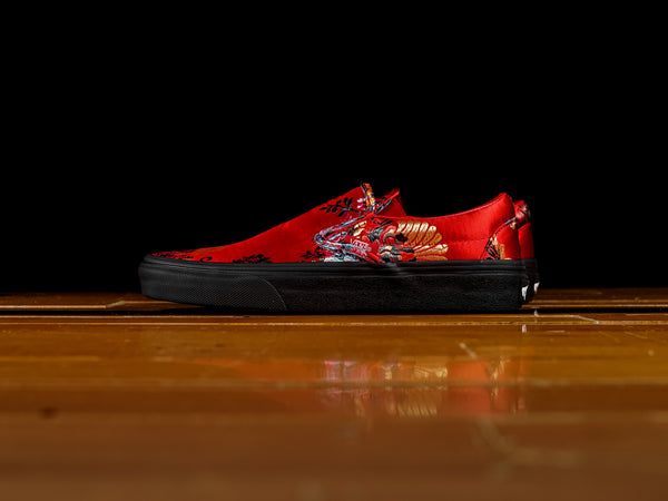 Vans Classic Slip-On 'Festival Satin Red' [VN0A38F7ULP]