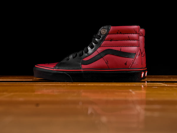 Men's Marvel X Vans SK8-Hi 'Deadpool' [VN0A38GEUBJ]