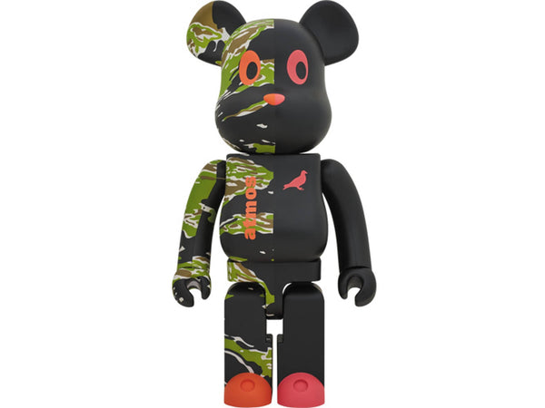 Medicom x atmos x Staple 1000% Be@rbrick [1904Y5519]