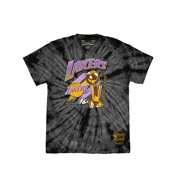 Mitchell & Ness Mens Streak Of Championships Los Angeles Lakers Tee