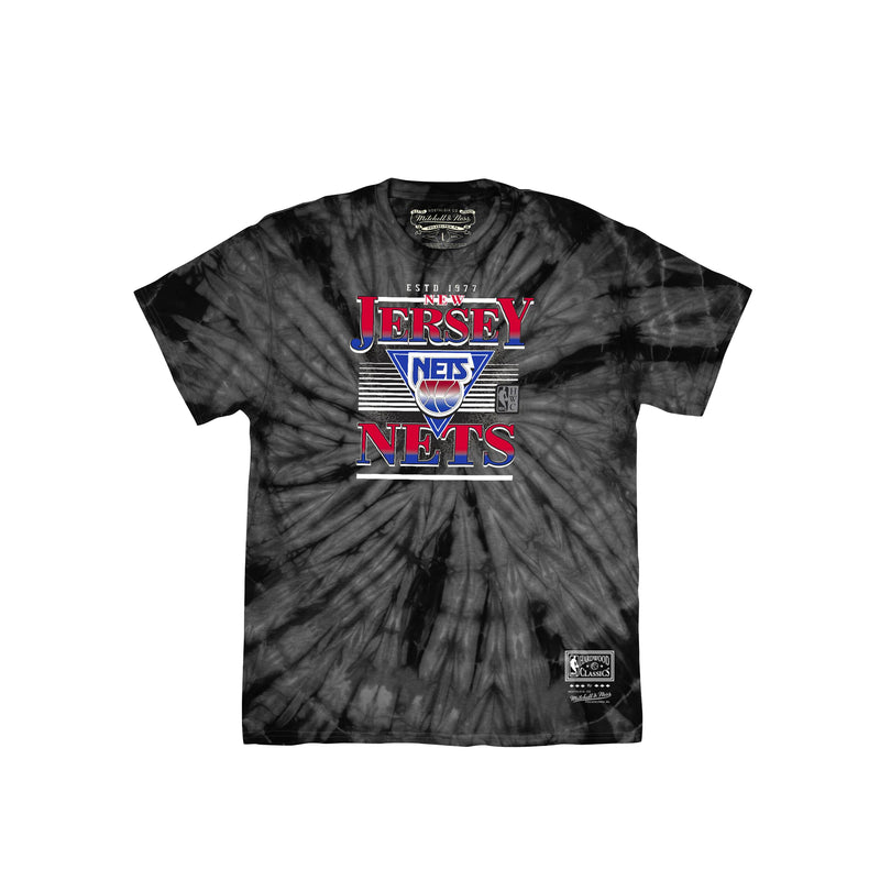 Mitchell & Ness Mens Elevate New Jersey Nets Tee