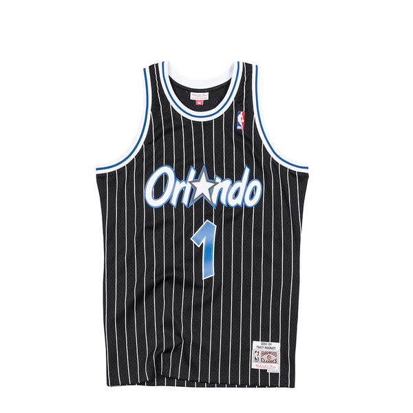 "Mitchell & Ness NBA Swingman Magic '03-'04 ""Tracy McGrady"" Jersey [SMJYAC18098-OMABLCK03TMC]"