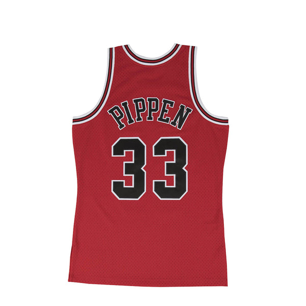 "Mitchell & Ness Mens NBA Chicago Bulls '97 ""Scottie Pippen"" Road Swingman Jersey"