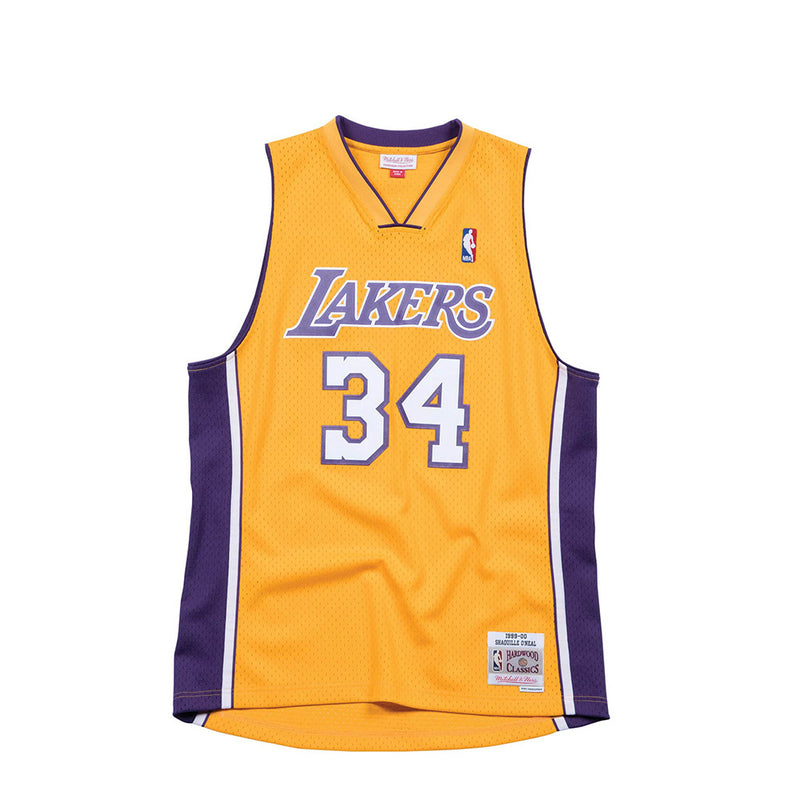 Mitchell & Ness Mens NBA Los Angeles Lakers '99 'Shaquille O'Neal' Swingman Jersey