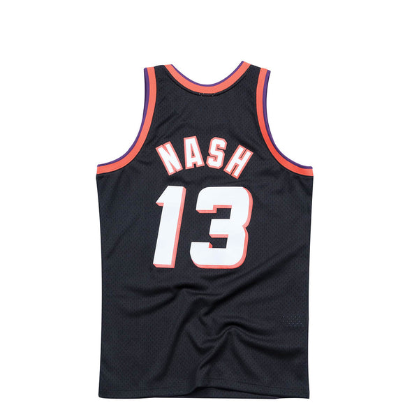 "Mitchell & Ness Men NBA Phoenix Suns '96 ""Steve Nash""Alternate Swingman Jersey"