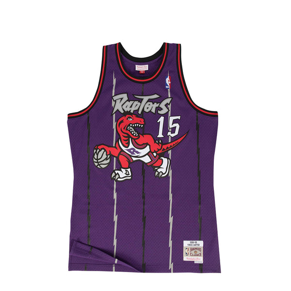 Mitchell & Ness Mens NBA Toronto Raptors '98 'Vince Carter' Swingman Jersey